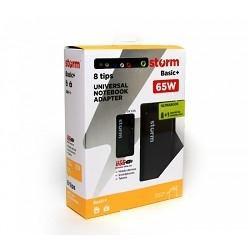 Адаптер для ноутбуков Storm BLU65, 65W, USB (2.1A)