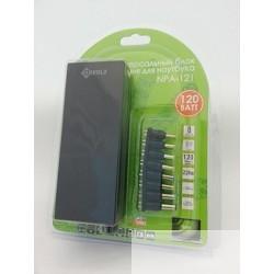 Kreolz NPA121 Универсальный блок питания для ноутбука  (12/<wbr>15/<wbr>16/<wbr>18/<wbr>19/<wbr>20/<wbr>24В, 120 Вт, USB, 8 переходников
