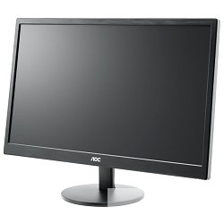 "LCD AOC 23.6"" E2470Swhe черный TN LED 1920х1080 5ms 16:9 170°/<wbr>160° 20M:1 250cd 2xHDMI D-Sub"