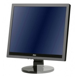 "LCD AOC 17"" e719sda/<wbr>01 Silver-Black TN LED 1280x1024 170°/<wbr>160° 5ms 5:4 20M:1 250cd  DVI"