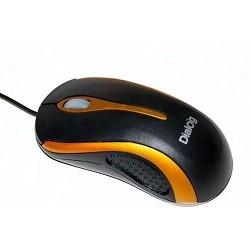 Мышь MOP-10BU Dialog Pointer Optical - 3 кнопки + ролик прокрутки, USB
