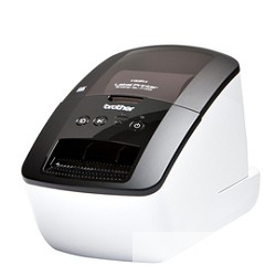 Brother QL-710W  Стильное профессиональное устройство для печати наклеек с Wi-Fi  QL710WR1