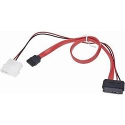 Gembird/<wbr>Cablexpert Кабель Combo miniSATA , molex+SATA/<wbr>miniSATA, 6pin+7pin, (длина инт-50см, пит-30см) (CC-SATA-C3)