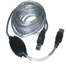 VCOM VUS7049-5M Кабель-адаптер USB2.0-repeater, удлинительный активный < Am--> Af> 5м