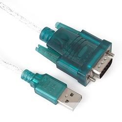 VCOM VUS7050 Кабель-адаптер USB Am -> COM port 9pin (добавляет в систему новый COM порт)
