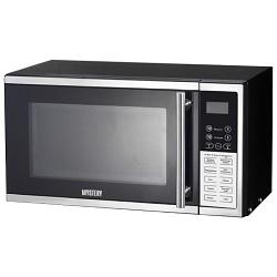 Микроволновая печь Mystery MMW-2008G 800Вт, 20 л, гриль, 8 режимов, черный/<wbr>серебристый