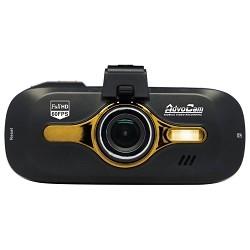 """Автомобильный Видеорегистратор AdvoCam FD8 GPS GOLD 2.7""""2304x1296, угол обзора 170°, G-сенсор, GPS, microSD,280 мАч"""