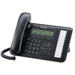 Panasonic KX-DT543RUB Цифр. тел. с диспл. 3 строки, 24 клавиши, порт XDP для KX-TDA/<wbr>TDE/<wbr>NCP/<wbr>NS