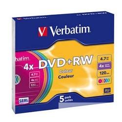 DVD+RW диски