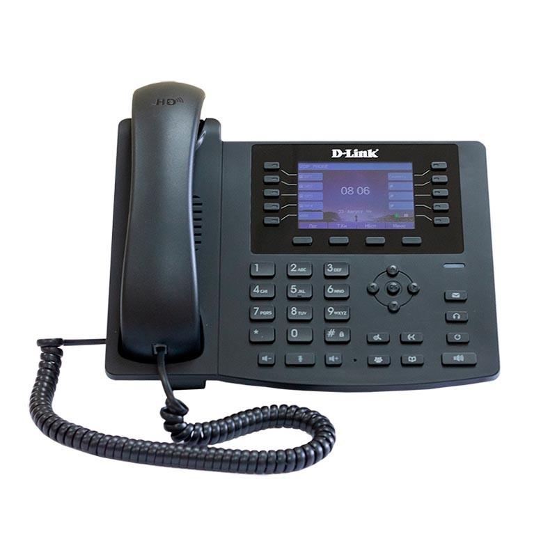 D-Link DPH-400SE/<wbr>F5A IP-телефон с цветным дисплеем, 1 WAN-портом 10/<wbr>100Base-TX, 1 LAN-портом 10/<wbr>100Base-TX и поддержкой PoE