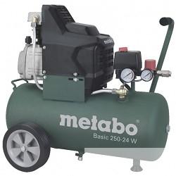 Metabo 250-24W Компрессор [601533000] масл.1.5кВт,24л, вес 27кг