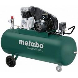 Metabo MEGA 520-200 D Компрессор [601541000] 3кВт,490/<wbr>м,400В,10б,200л, вес 131 кг
