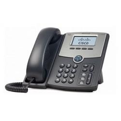 Cisco SB SPA502G-XU SPA502G Телефон 1 Line IP Phone With Display, PoE, PC Port