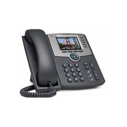 Cisco SB SPA525G2-XU IP телефон с 5 линиями с цветным дисплеем, PoE, 802.11g, Bluetooth