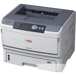 OKI B840DN 01308001 Монохромный принтер OKI B840DN А3;40 стр/<wbr>мин. A4;22 стр/<wbr>мин. A3; Дуплекс; 10/<wbr>100BaseTX Ethernet, лоток 530 листов 80г/<wbr>м2.