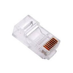 VCOM VNA2230-1/<wbr>100 Разъем Plug RJ45 8P8C для FTP кабеля 5 кат. экранированный, 100шт,
