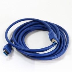 VCOM VUS7070-3M Кабель соединительный USB3.0 Am/<wbr>Bm 3m