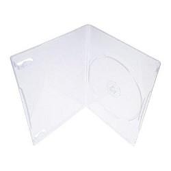 DVD-box Slim 7mm прозрачные (100 в уп. ) [DVDB-7-T]