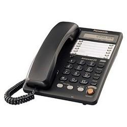 Panasonic KX-TS2365RUB (черный) 16-зн ЖКД, однокноп. набор 20 ном. , автодозвон, спикерфон