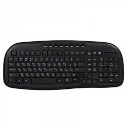 Клавиатура проводная мультимедийная Smartbuy 205 USB черная [SBK-205U-K]