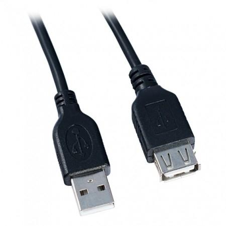 VS Кабель USB2.0 A вилка - А розетка, длина 0,5 м. (U505)