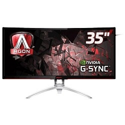 "LCD AOC 35"" AGON AG352UCG черный MVA LED 3440x1440 4 ms 100Гц 21:9 178°/<wbr>178° 300cd DisplayPort HDMI"