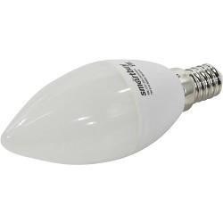 Smartbuy (SBL-C37-07-60K-E14) Светодиодная (LED) Лампа свеча C37-07W/<wbr>6000/<wbr>Е14