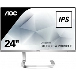 "LCD AOC 27"" PDS271 серебристый IPS LED 1920x1080 4 ms 16:9 1000:1 250cd 178гр/<wbr>178гр"