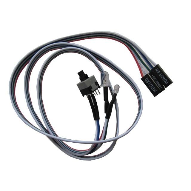 Espada Кабель питания для мат. плат ATX (вкл. /<wbr>выкл. питания, HDD 2 LED), (EATXpower2LED) (39953)