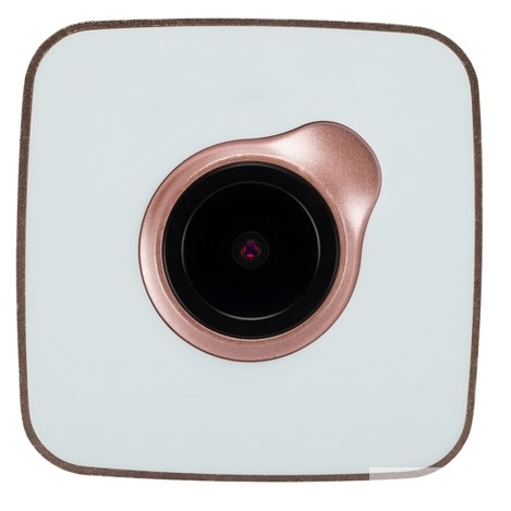 Car Video Recorder PRESTIGIO RoadRunner CUBE FHD 1920x1080@30fps, 1.5 inch screen, 2 MP CMOS SONY IMX323 image sensor, 2 MP camera, 140° Viewing Angle, Micro USB, 150 mAh [PCDVRR530WGD]GOLD-WHITE