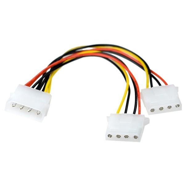 Exegate EX261530RUS Разветвитель питания IDE-устройств Molex (IDE)  в 2*Molex (IDE), 15см