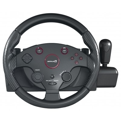 PS 4 Руль ARTPLAYS Street Racing Wheel Turbo C900 совместим с PS3, ПК, Xbox ONE, Xbox 360 [ACPS4113]