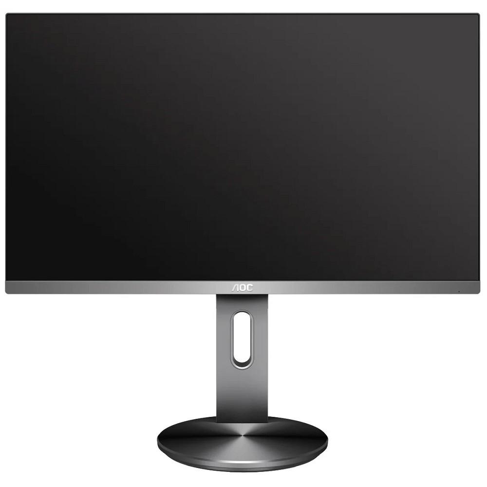 """LCD AOC 23.8"""" I2490PXQU/<wbr>BT темно-серый IPS LED 1920x1080 4ms 16:9 1000:1 250cd 178гр/<wbr>178гр D-Sub HDMI DisplayPort"""