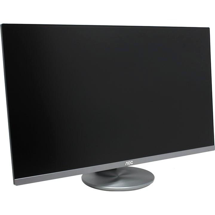 """LCD AOC 27"""" I2790PQU/<wbr>BT (00/<wbr>01) серый IPS, 1920x1080, 4 ms, 178°/<wbr>178°, 250 cd/<wbr>m, 20M:1, HDMI, DisplayPort, D-Sub"""