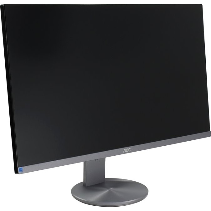 "LCD AOC 27"" Q2790PQU Black-Silver IPS LED 4ms 2560x1440 16:9 350cd 178гр/<wbr>178гр D-Sub DisplayPort HDMI"