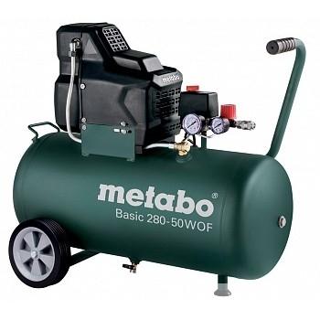 Metabo Basic280-50WOF Компрессор[601529000] Компрессор безмасл. 1.7кВт,50л