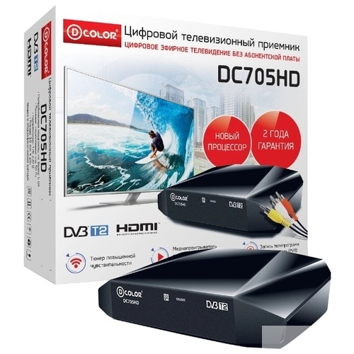 Цифровые ТВ приставки D-Color