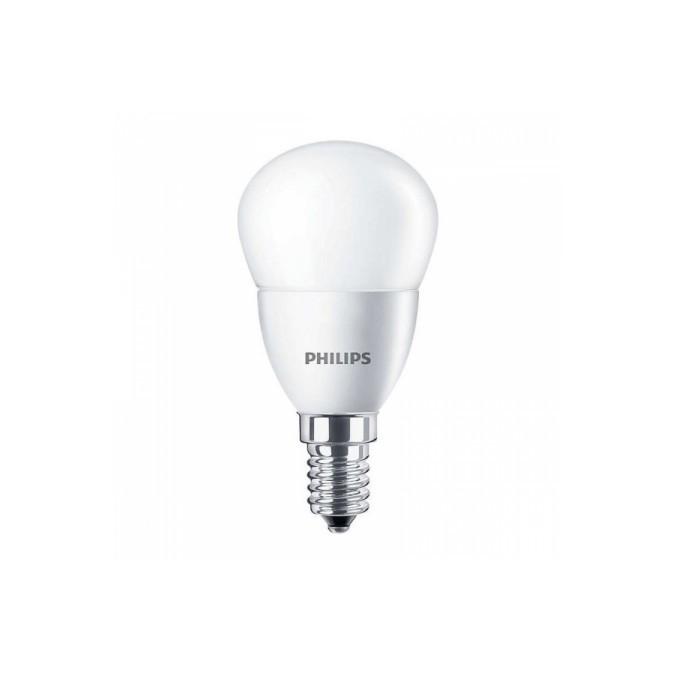 Лампа светодиодная 763377 Philips ESS LEDLustre 6.5-60W E14 827 P48