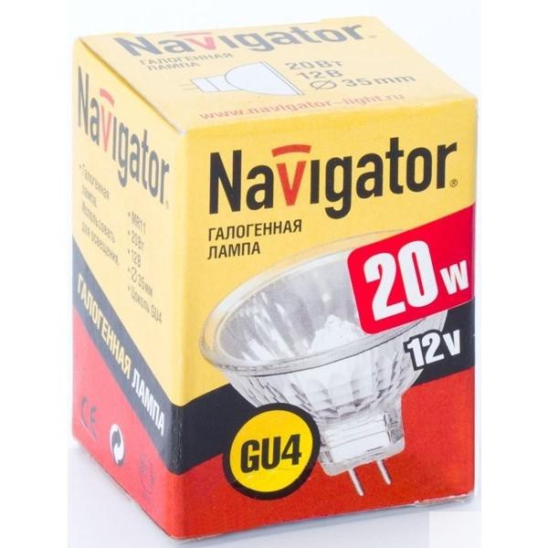 Navigator Галогенные и люминесцентные лампы