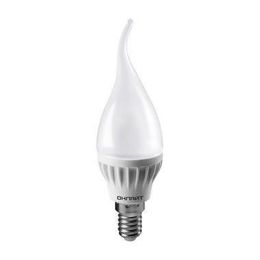 Онлайт 61964 Светодиодная лампа OLL-FC37-10-230-6.5K-E14-FR