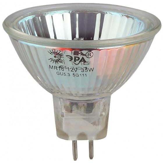 ЭРА C0027365 Лампа галогенная GU5.3-JCDR (MR16) -50W-230V-Cl [JCDR-50-230-GU5.3]