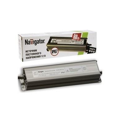 Navigator 71497 Драйвер светодиодной ленты 12В IP67 ND-P-P60-IP67-12V