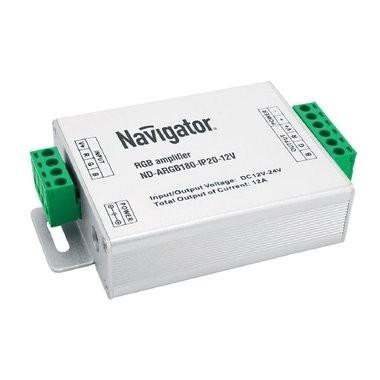 Navigator 71494 Усилитель ND-ARGB180-IP20-12V