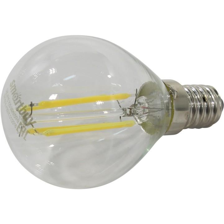 Smartbuy SBL-P45F-5-30K-E14 Светодиодная (LED) Лампа FIL шар G45-5W/<wbr>4000/<wbr>E14
