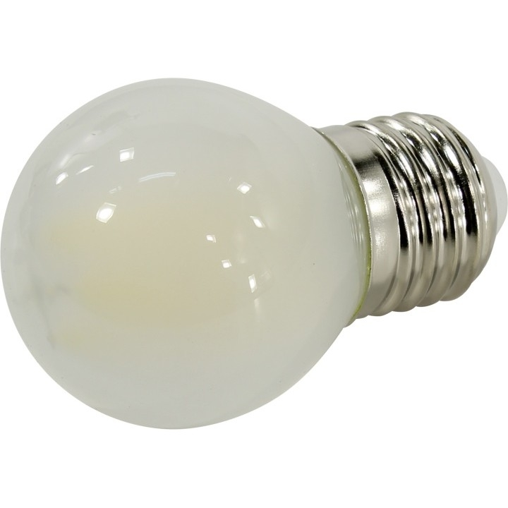 Smartbuy SBL-G45F-Мат-7-40K-E27 Светодиодная (LED) Лампа FIL шар матовый G45-7W/<wbr>4000/<wbr>E27