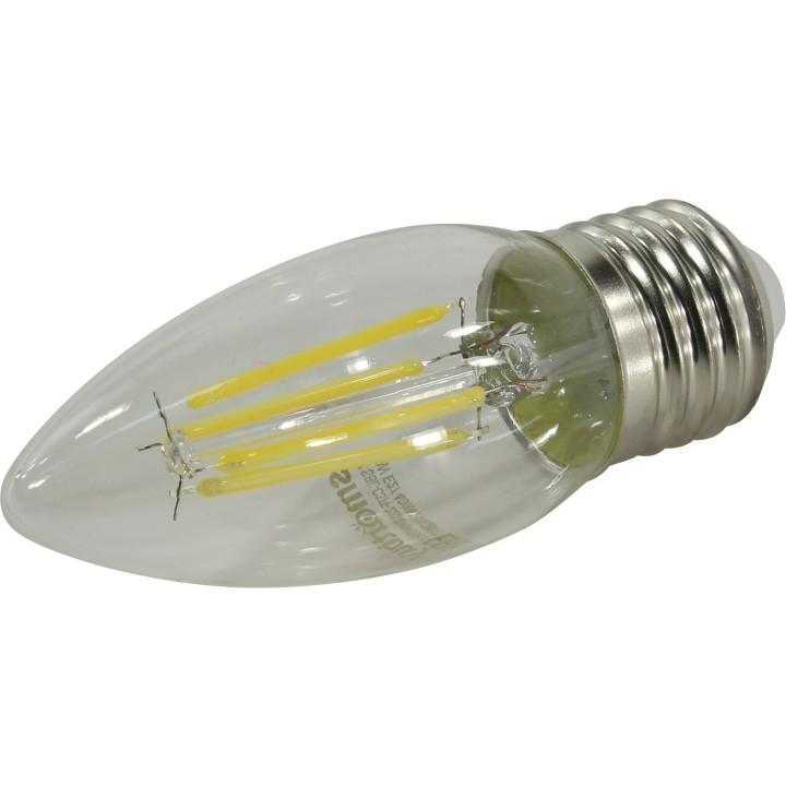 Smartbuy SBL-C37F-05-40K-E27 Светодиодная (LED)FIL Лампа свеча C37-05W/<wbr>4000/<wbr>E27