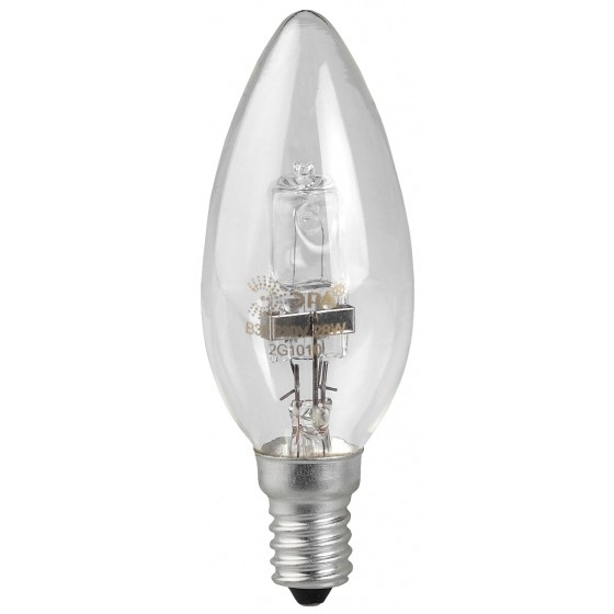 ЭРА C0038550 Лампа галогенная Hal-B35-28W-230V-E14-CL