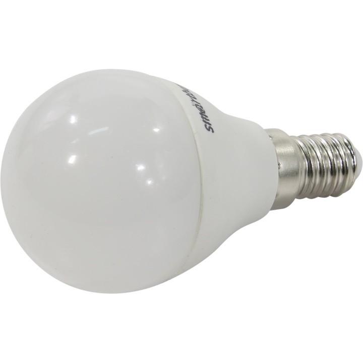 Smartbuy SBL-G45D-07-30K-E14 Светодиодная лампа диммируемая шар G45D-07W/<wbr>3000/<wbr>Е14