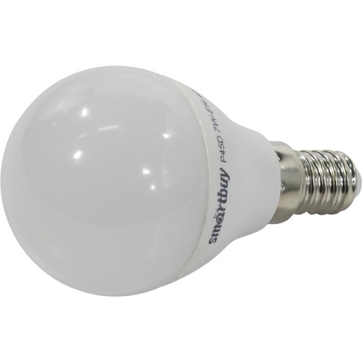 Smartbuy SBL-G45D-07-40K-E14 Светодиодная лампа диммируемая шар G45D-07W/<wbr>4000/<wbr>Е14