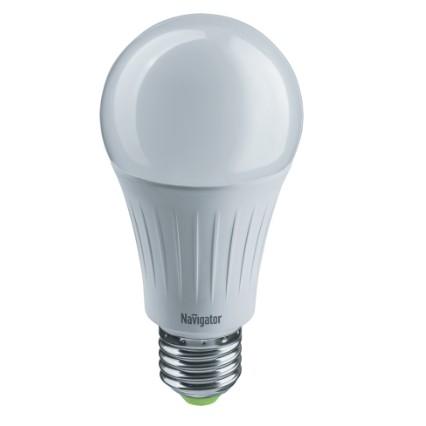 Navigator 61625 Светодиодная лампа NLL-A60-10-230-3COLOR-E27